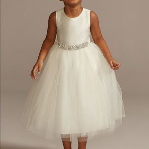David's Bridal size 4 flower girl dress